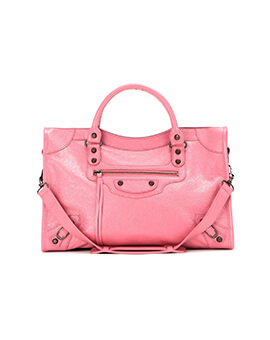 BALENCIAGA Regular Classic City in Light Pink RHW
