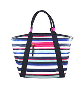 FOSSIL Eliza Beach Tote Stripes