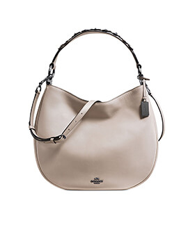COACH Elle Hobo Grey Birch