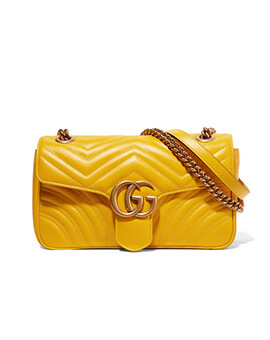 GUCCI Small Marmont in Yellow