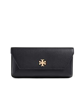 TORY BURCH TB Kira Clutch in Black