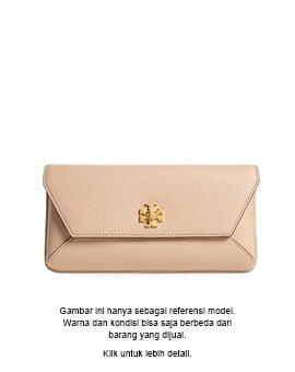 TORY BURCH TB Kira Clutch in Red