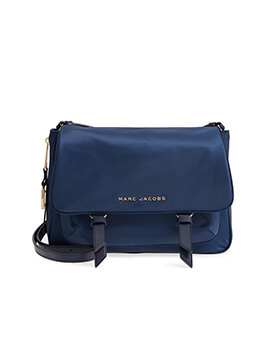 MARC JACOBS SMALL MESSENGER NAVY