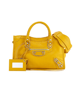 BALENCIAGA Small Yellow in Edge City