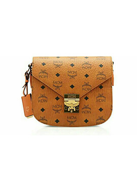 MCM Patricia Shoulder Bag in Brown