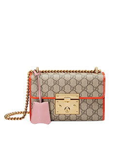 GUCCI Small Padlock in Pink
