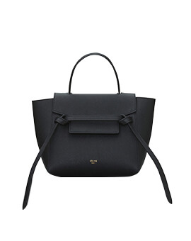 CELINE Nano Black Grained GHW