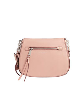 MARC JACOBS Recruit Saddle Bag in Nude