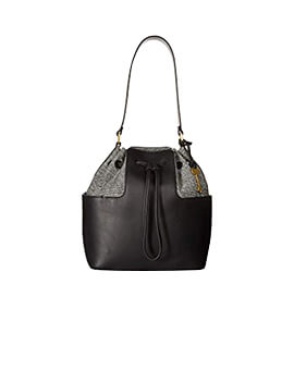 FOSSIL Cooper Bucket Drawstring Black