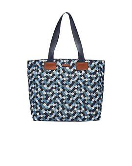 FOSSIL Bailey Tote Blue Multi