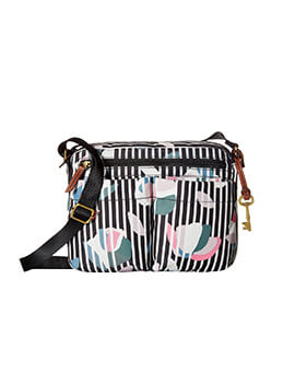 FOSSIL Bailey Crossbody Dark Flower