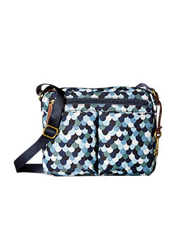FOSSIL Bailey Crossbody Blue Multi