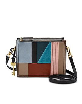 FOSSIL Campbell Crossbody Patchwork