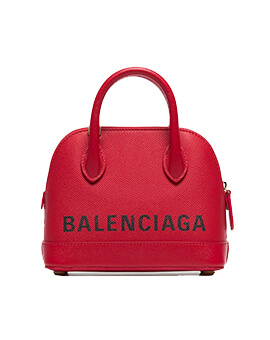 BALENCIAGA Ville XXS in Red