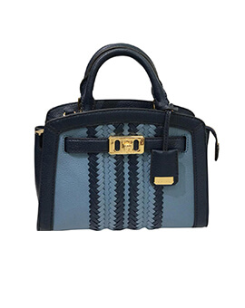 MICHAEL KORS Karson XS Satchel Denim