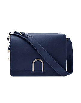 FOSSIL Finley Shoulder Bag Midngiht Navy