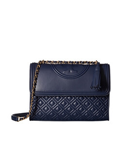 TORY BURCH TB Fleming Convertible in Navy