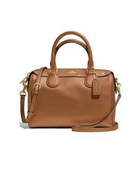 COACH Large Bennet Satchel Khaki