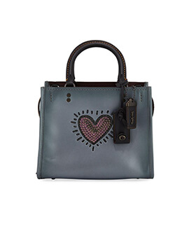 COACH X Keith Haring Heart Sequin Rogue 25