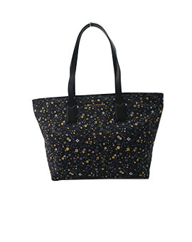 MARC JACOBS WINGMAN NYLON TOTE BLACK MULTI