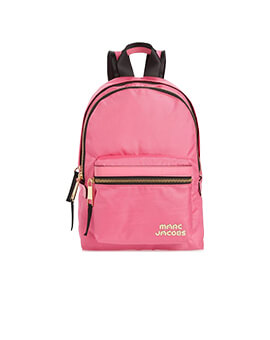 MARC JACOBS MEDIUM BACKPACK VIVID PINK