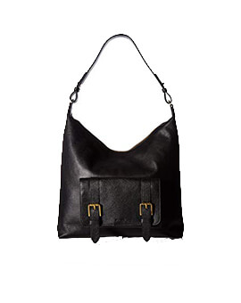 FOSSIL Cleo Hobo Black