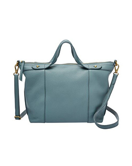 FOSSIL Sadie Satchel Steel Blue