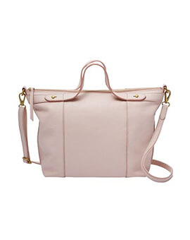 FOSSIL Sadie Satchel Burnished Rose