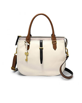 FOSSIL Ryder Satchel Neutral Multi