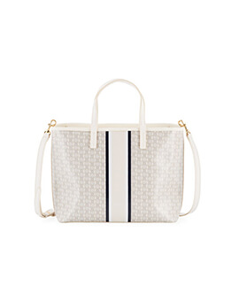 TORY BURCH TB Small Gemini Link Stripe
