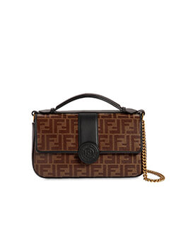 FENDI Double F Mini Flap