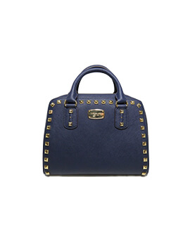 MICHAEL KORS MK Small Saffiano Studded
