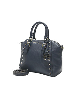 MICHAEL KORS MK Medium Ciara Studded Messenger