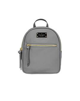 KATE SPADE MINI BRADLEY GREY BACKPACK