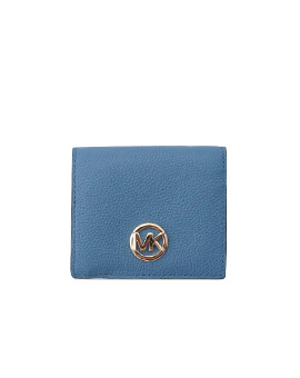 MICHAEL KORS FULTON WALLET DENIM