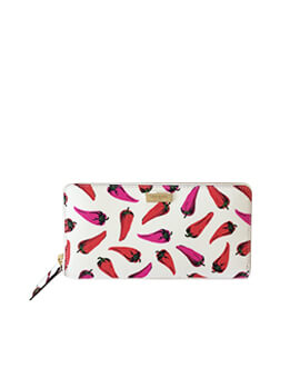 KATE SPADE NEDA HOT PEPPERS WALLET