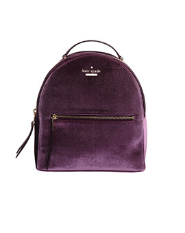 KATE SPADE SAMMI DEEP PLUM BACKPACK