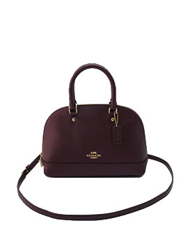 COACH MINI SIERRA MET RASPBERRY