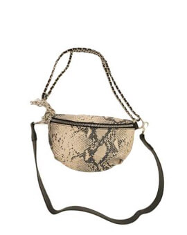STEVE MADDEN BMACY NATURAL BELT BAG