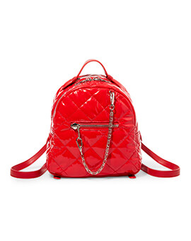 STEVE MADDEN BJAMMIN RED BACKPACK