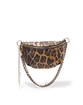 STEVE MADDEN BMACY LEOPARD BELT BAG