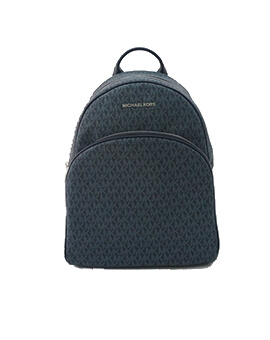 MICHAEL KORS LARGE ABBEY BACKPACK SIGNATURE ADMIRAL