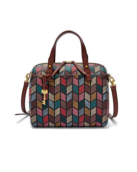 FOSSIL Rachel Satchel Fall Multi