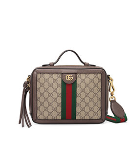 GUCCI Ophidia GG Top Handle Bag 89c21744905ce