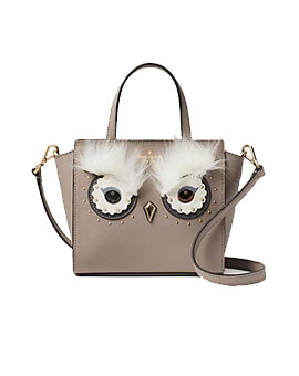 KATE SPADE KS Owl Mini Hadlee Star Bright Cityscape