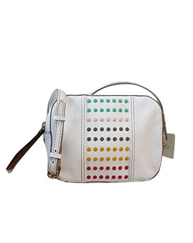 FOSSIL Jenna Camera Bag White Multi