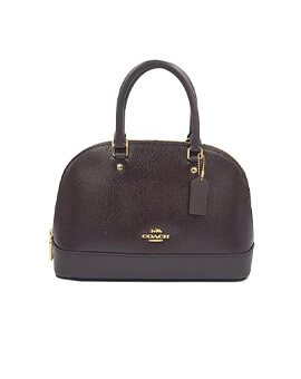 COACH F32019 Mini Sierra Oxblood