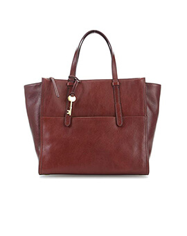 FOSSIL Campbell Carryall Henna