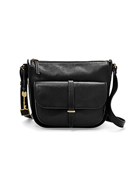 FOSSIL Ryder Crossbody Black